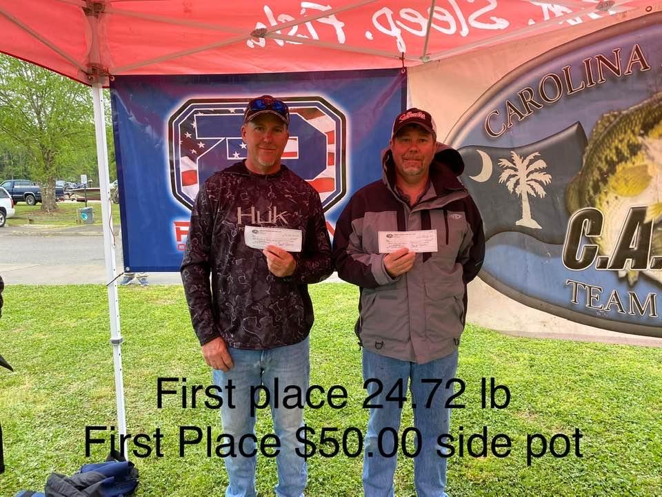 Tournament Results James River, VA Phantom Outdoors Invitational April 24, 2021