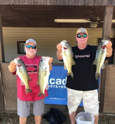 Tournament Results Lake Wateree, SC Open May 1, 2021