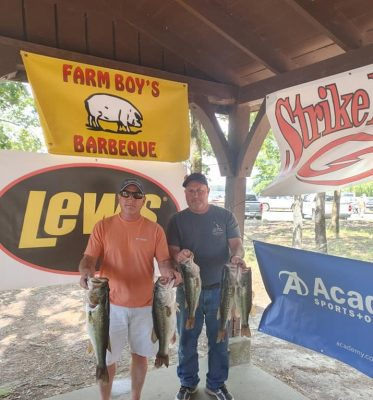 Tournament Results Lake Murray, SC Spring Final May 8, 2021