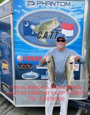 Tournament Results Old North Final Falls Lake, NC June 19, 2021
