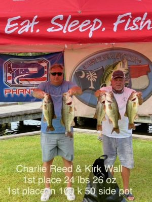 Tournament Results Phantom Outdoors Invitational Chowan River, NC June 26, 2021