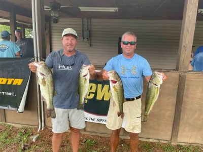 Tournament Results Lake Wateree, SC Summer Final July 17, 2021