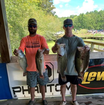 Read more about the article Tournament Results Sparkleberry Swamp Quest Lake Marion, SC August 14, 2021