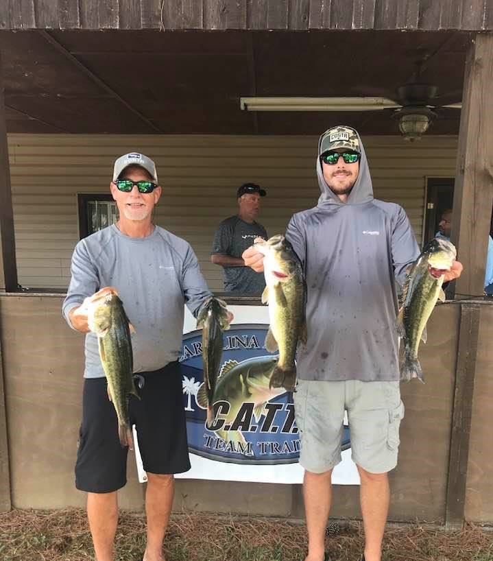 Tournament Results Lake Wateree, SC Open Sept 11, 2021