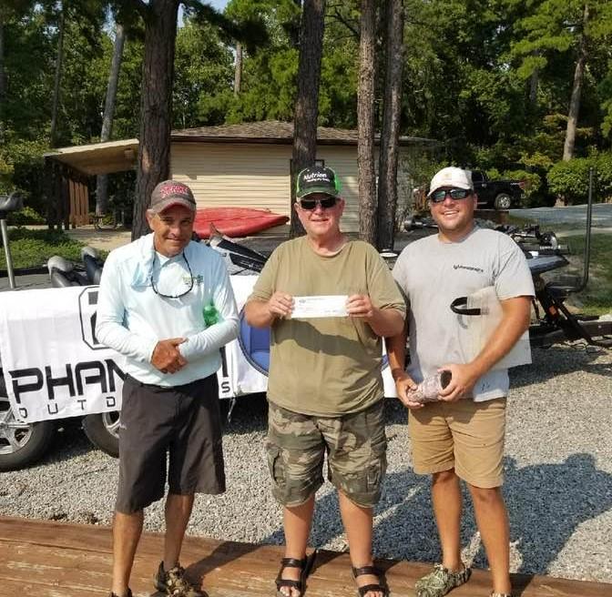 Tournament Results Kerr Lake, NC Sept 12, 2021