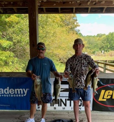 Read more about the article Tournament Results Sparkleberry Swamp Quest Lake Marion, SC Sept 11, 2021