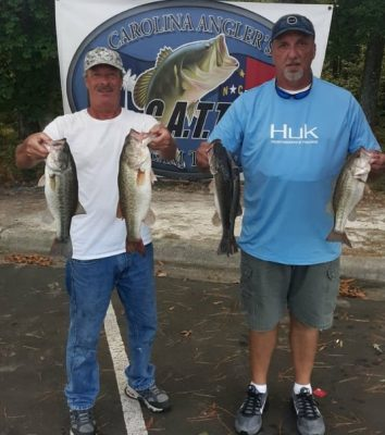 Read more about the article Tournament Results Old North Falls Lake, NC Sept 18, 2021